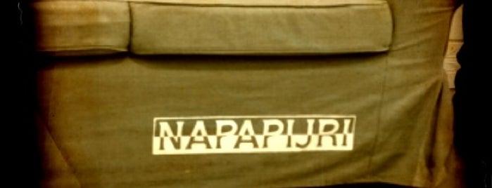 Napapijri Showroom is one of Locais salvos de Funda.
