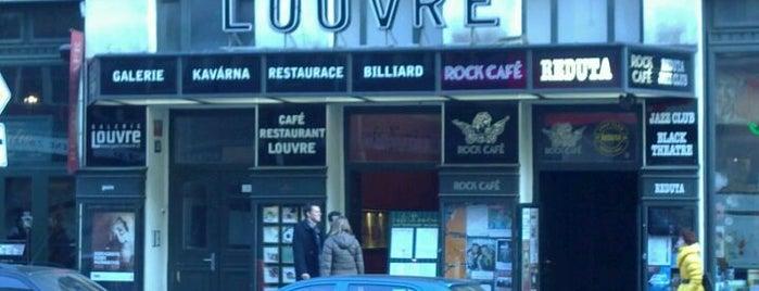 Café Louvre is one of To-Do Prague.