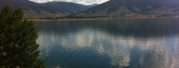 Lake Dillon Dam is one of CO Fly Fishing.