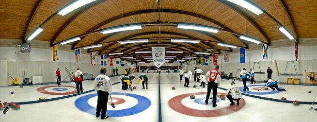 Club de Curling Laviolette is one of Arthur's Favorite Stadium and Game Places!.
