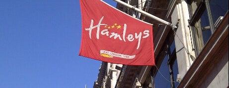 Hamleys is one of Best Shopping Spots in London.