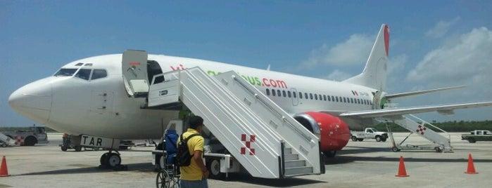 Aeropuerto Internacional de Cancún (CUN) is one of AIRPORT.