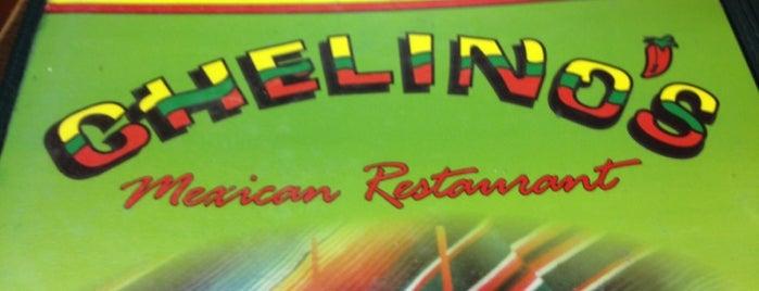 Chelino's is one of Tempat yang Disukai Morgan.