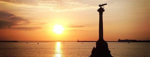 Памятник затопленным кораблям is one of Stanislav : понравившиеся места.