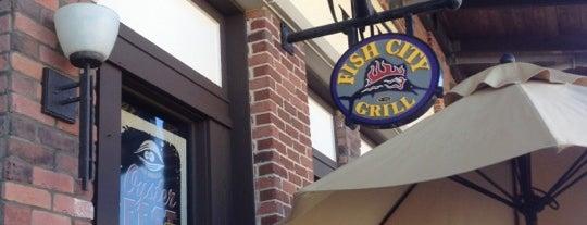 Fish City Grill is one of Ms. Damaris'in Beğendiği Mekanlar.