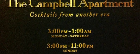 The Campbell is one of Hidden Imbibery.