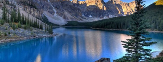 Moraine Lake is one of Cool Places to Visit.
