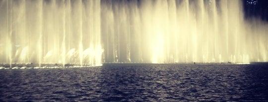 The Dubai Fountain is one of Dubai #4sqCities.