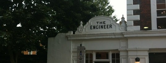 The Engineer is one of London pubs.