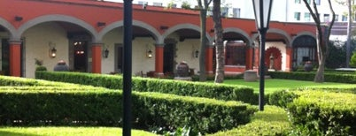 Hacienda de Los Morales is one of Barriga llena, Corazon contento. Mexico City.
