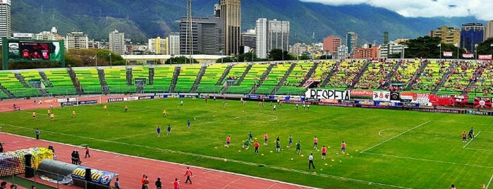 Estadio Olímpico Universitario is one of Explorando en: Caracas, Venezuela #4sqCities.