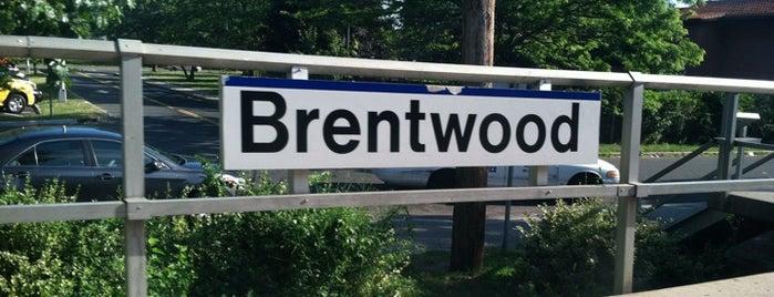 LIRR - Brentwood Station is one of สถานที่ที่บันทึกไว้ของ Mike.
