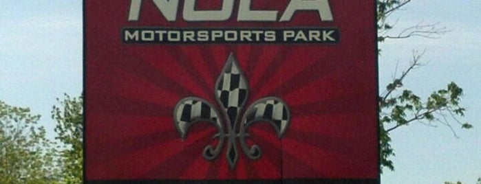NOLA Motorsports Park is one of New Orleans.