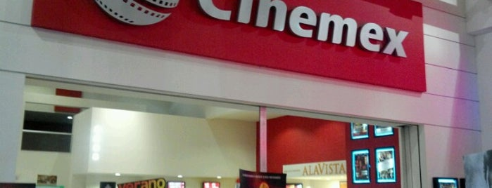 Cinemex is one of CMX M.