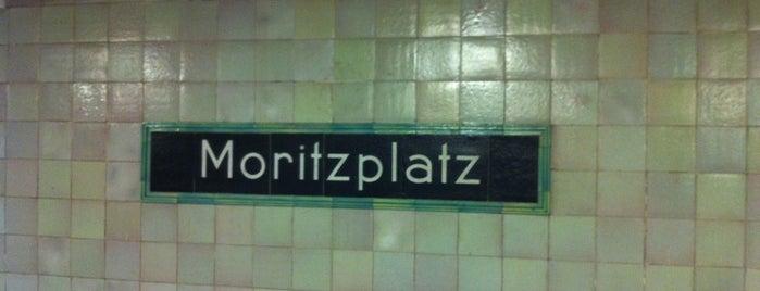 U Moritzplatz is one of U & S Bahnen Berlin by. RayJay.