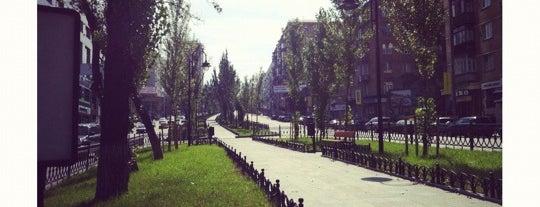 Бульвар Лесі Українки is one of Posti salvati di Askenald Field.