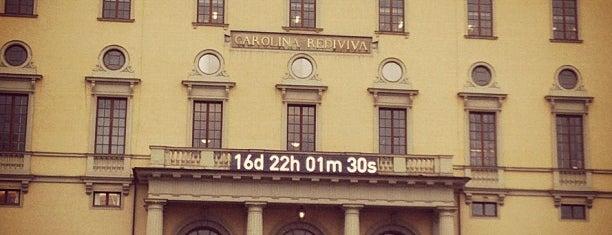 Carolina Rediviva is one of Uppsala🌝.