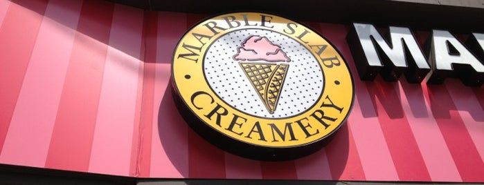 Marble Slab Creamery is one of Adinaさんのお気に入りスポット.