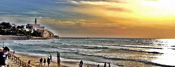 Yaffo Beach is one of Tel Aviv.