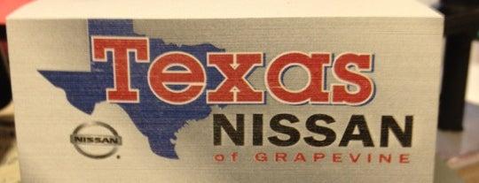 Texas Nissan of Grapevine is one of Gautham'ın Beğendiği Mekanlar.