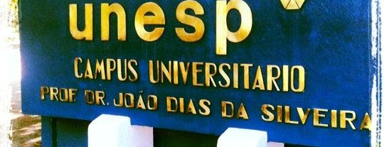 Universidade Estadual Paulista (Unesp) is one of Rio claro.