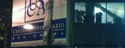 Centro Universitario San Angel is one of สถานที่ที่ Humberto Cervantes ถูกใจ.