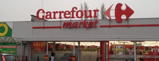 Carrefour market is one of Wetteren.