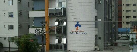 Hospital Maternidade Saúde Da Criança is one of Vanja 님이 좋아한 장소.