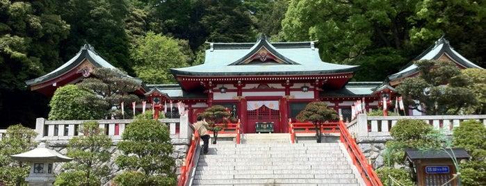 足利織姫神社 is one of 足利.