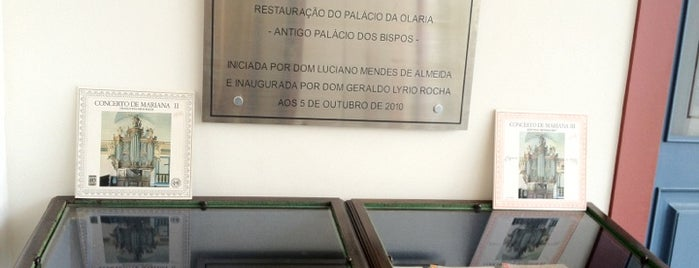 Museu Da Música De Mariana is one of Orte, die Warley gefallen.