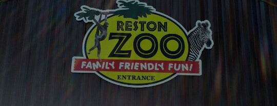 Reston Zoo is one of John 님이 저장한 장소.