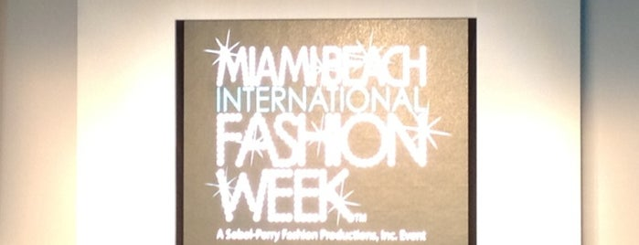 Miami International Fashion Week is one of Miami: history, culture, and outdoors.
