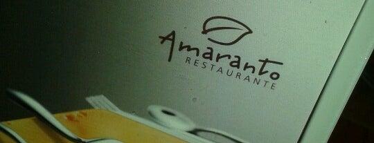 Amaranto Restaurante is one of Onde almoçar na Paulista.
