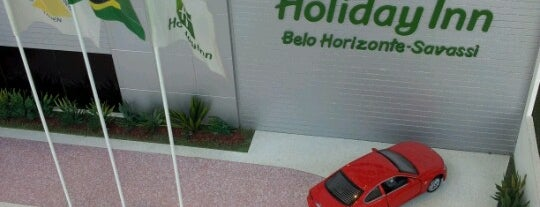 Holiday Inn Belo Horizonte Savassi is one of Orte, die Carolina gefallen.