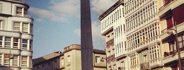 Praza de Santo Domingo is one of Posti che sono piaciuti a Christian.