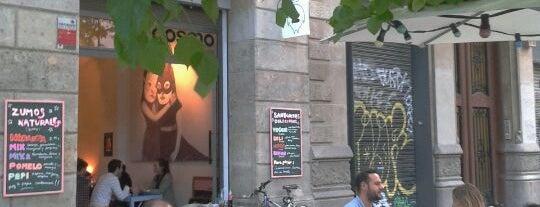 Cosmo is one of Mejores Terrazas en Barcelona.