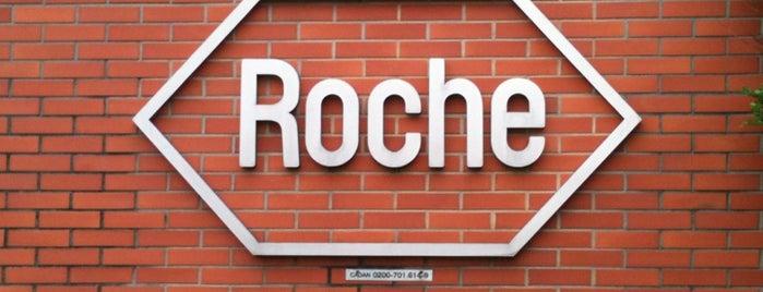Roche is one of Locais curtidos por Antonio Carlos.