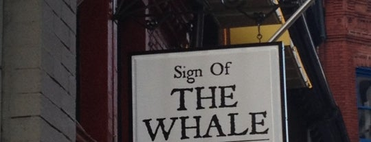 Sign of the Whale is one of DC Burgers.