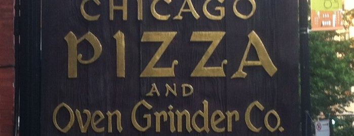 Chicago Pizza and Oven Grinder Co. is one of Chicago: To-do list.