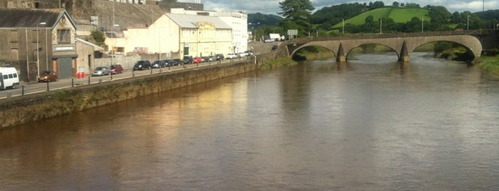 Carmarthen is one of Woot!'s Wales Hot Spots.