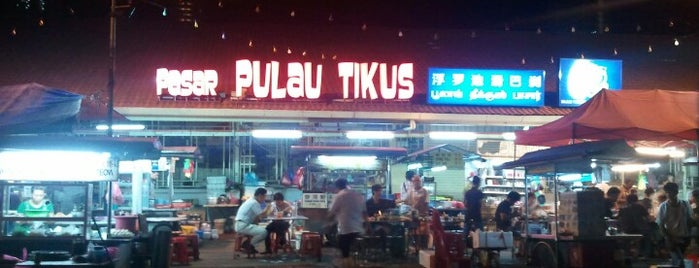 Pulau Tikus Market Hawker Stalls is one of Penang state of good food.