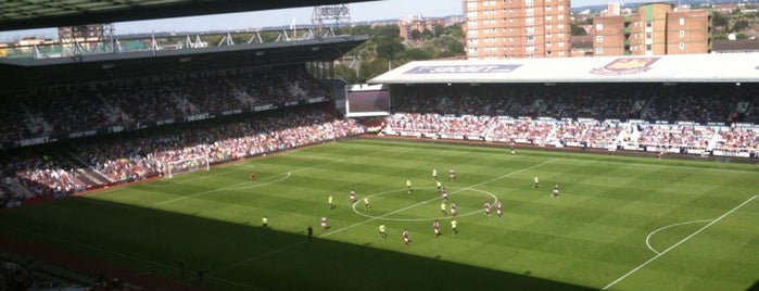 Boleyn Ground (Upton Park) is one of Stadiums I've watched sport at.