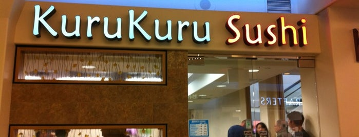 KuruKuru Sushi - Kahala Mall is one of Hawaii.