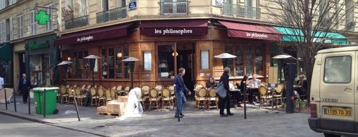 Les Philosophes is one of Kristen's Paris.