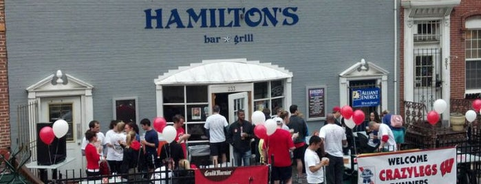 Hamilton's Bar & Grill is one of DC Bucket List 2.
