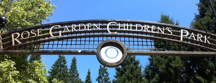 Rose Garden Children's Park is one of Portland.