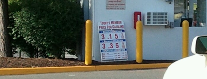 Costco Gas Stations < 70 Miles From DC