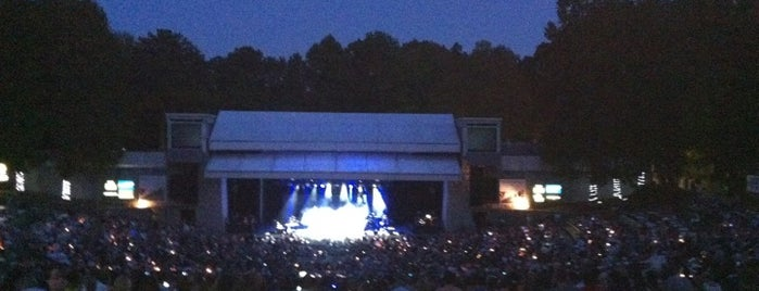 Chastain Park Amphitheater is one of The Atlanta I Know and Love, By an Atlanta Native.