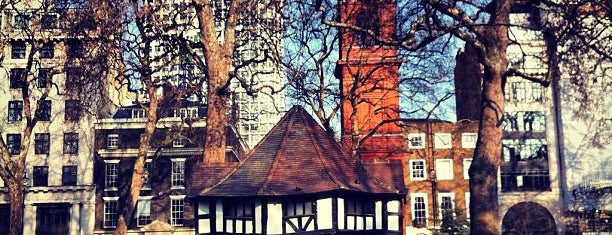 Soho Square is one of London 🇬🇧.