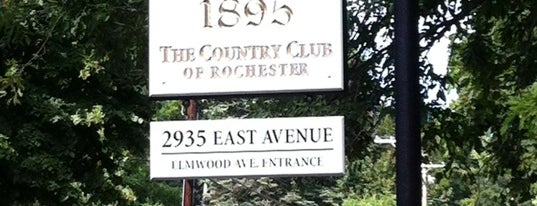 Country Club of Rochester is one of Amanda 님이 좋아한 장소.